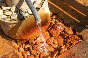 eisenhaltiges Wasser