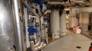Energiezentrale mit Wasseraufbereitung