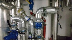 2 Zoll auf Warmwasser Edelstahlrohr