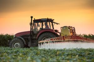 Spritzgerät Traktor