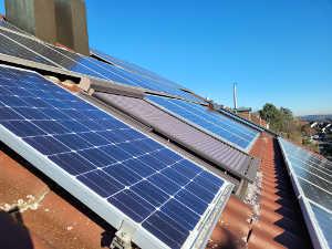Photovoltaik auf Hausdach